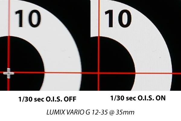 Kuvanvakaajatesti 1/30 sekuntia