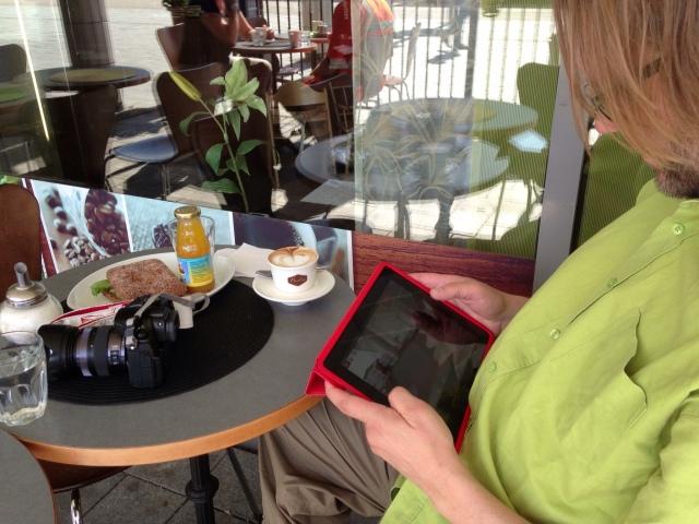 GH3, iPad ja bloggaaja