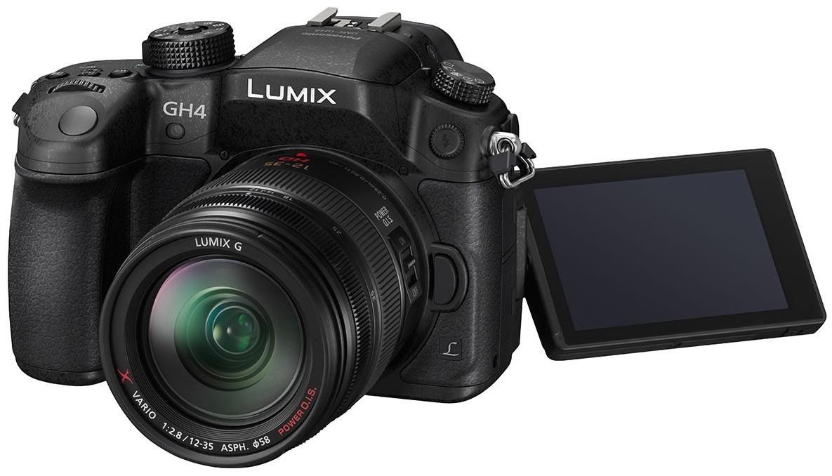 Panasonicin uusi Lumix DMC-GH4