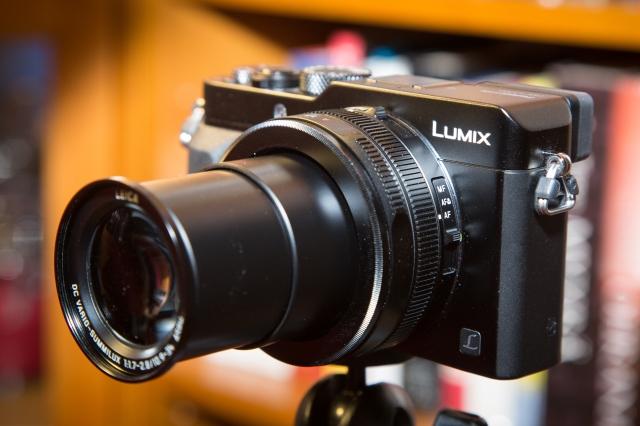 Panasonic Lumix LX100: zoomi teleasennossa