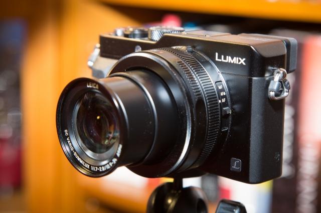 Panasonic Lumix LX100: zoomi laajakulma-asennossa